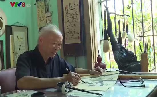 Người giữ lửa nghệ thuật thư pháp tại cố đô Huế