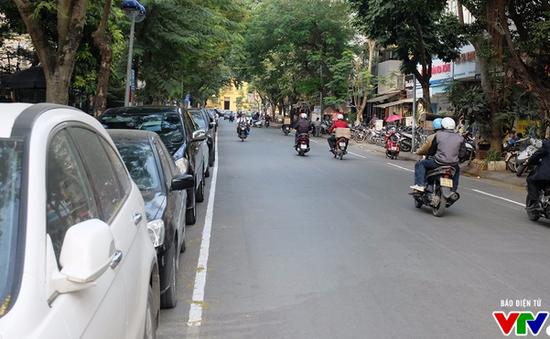 Hà Nội có thêm tuyến phố triển khai đỗ xe theo ngày chẵn lẻ