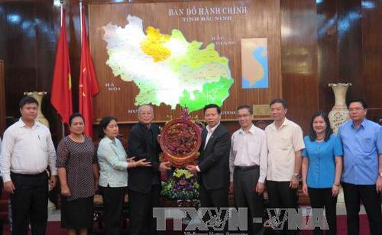 Đoàn đại biểu cấp cao Đảng Nhân dân Campuchia thăm, làm việc tại tỉnh Bắc Ninh