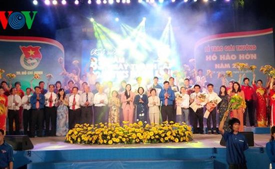 Trao Giải thưởng Hồ Hảo Hớn tại TP.HCM