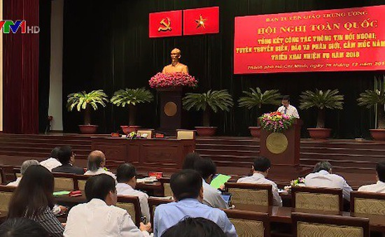 Hội nghị toàn quốc tổng kết công tác thông tin đối ngoại