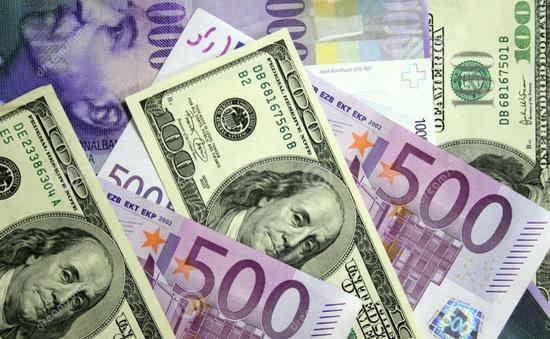 Đồng EUR giảm xuống mức thấp nhất trong 6 tuần