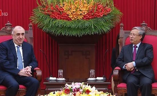 Đồng chí Trần Quốc Vượng tiếp Bộ trưởng Bộ Ngoại giao Azerbaijan
