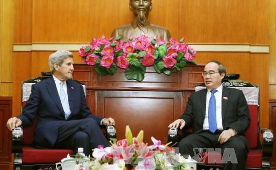 Đồng chí Nguyễn Thiện Nhân tiếp cựu Ngoại trưởng Hoa Kỳ