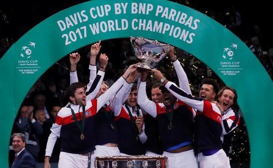 ĐT Pháp giành chức vô địch Davis Cup 2017