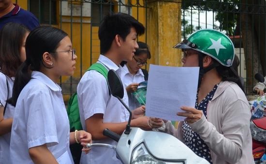 Tuyển sinh lớp 10 Hà Nội: Nhiều thí sinh trúng tuyển 5 nguyện vọng vào trường công lập