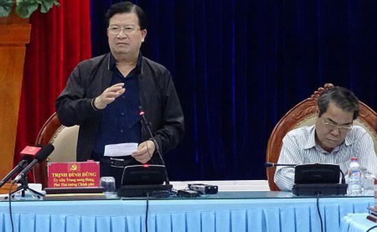 PTT Trịnh Đình Dũng yêu cầu Cà Mau không chủ quan với bão số 16