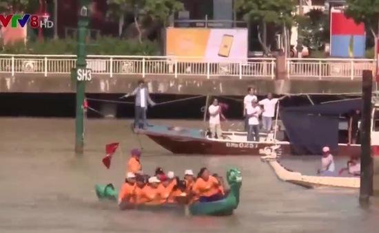 Đội thuyền quận Hải Châu giành cú đúp vô địch Giải đua thuyền tranh cúp VTV8