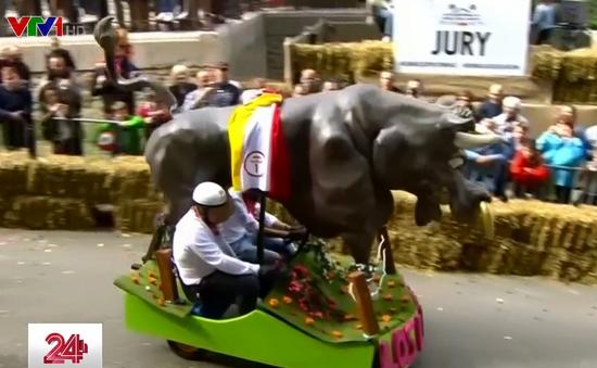 Độc đáo vô địch đua xe tự chế tại Bỉ