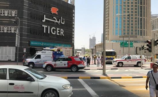 Thêm một vụ cháy tháp chung cư ở Dubai