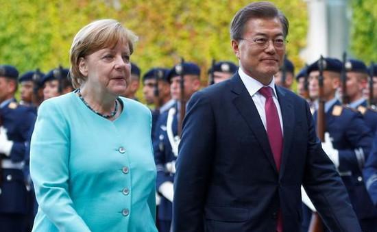 Hàn Quốc, Đức cam kết hợp tác trong vấn đề Triều Tiên