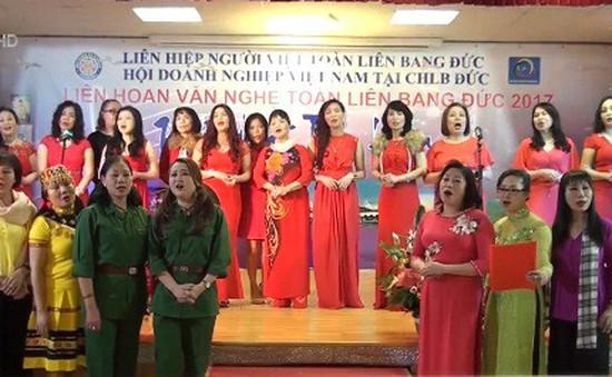 Cộng đồng người Việt dự Liên hoan văn nghệ toàn Liên bang Đức