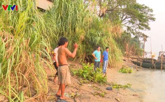 2 học sinh đuối nước thương tâm do tắm sông ở Đồng Tháp