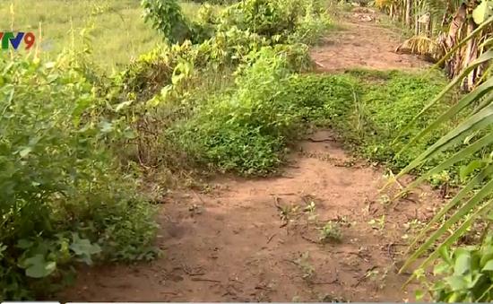 Vĩnh Long: Đường xuống cấp, công trình giao thông mới bị đình trệ