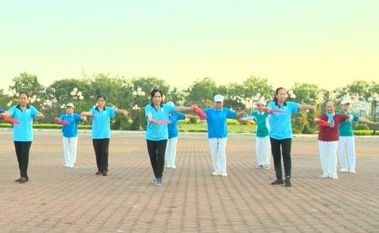 Điểm hẹn của những người yêu thích môn Thể thao dưỡng sinh ở TP.Tân An - Tỉnh Long An