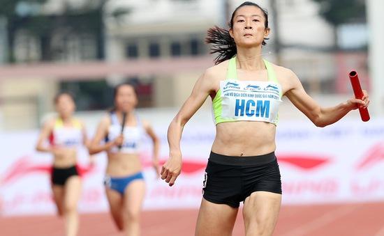Kết thúc giải điền kinh VĐQG 2017: Tú Chinh giành 4 HCV