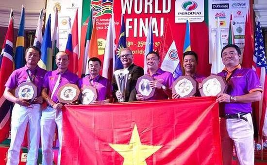 ĐT Việt Nam vô địch giải golf nghiệp dư thế giới 2017