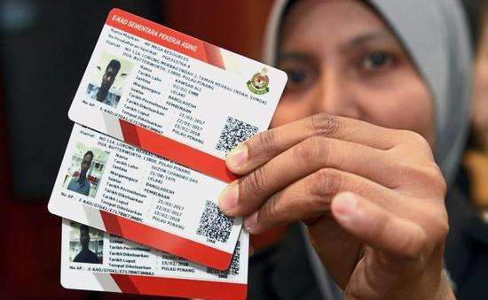 Malaysia không gia hạn chương trình cấp thẻ E-card