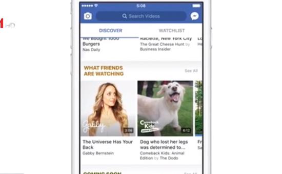 Facebook ra mắt Watch - Ứng dụng thách thức YouTube