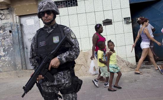 Brazil huy động hàng nghìn binh sĩ đảm bảo an ninh