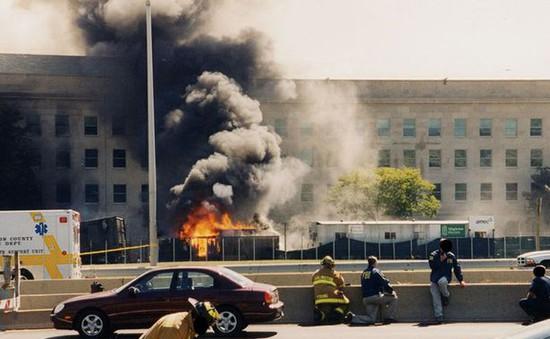 Những hình ảnh chưa từng được công bố về Lầu Năm Góc sau vụ khủng bố 11/9
