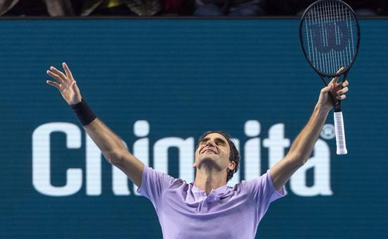 Ngược dòng thắng Del Potro, Federer lần thứ 8 vô địch Basel mở rộng