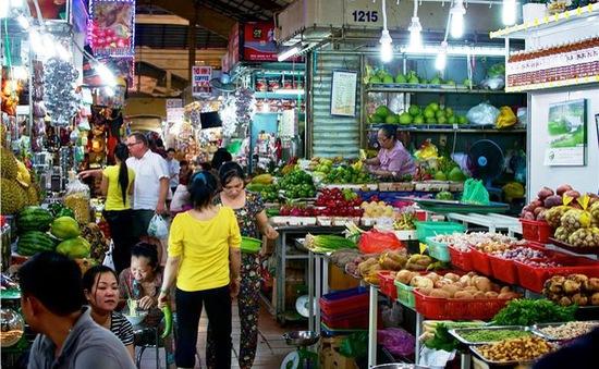 Giá các loại rau, củ, quả dịp Tết ít biến động