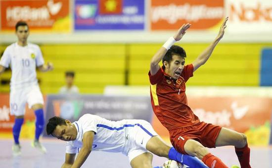 Thua ngược ĐT Myanmar, ĐT futsal Việt Nam giành hạng 4 chung cuộc