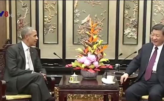 Chủ tịch Tập Cận Bình tiếp cựu Tổng thống Mỹ Barack Obama