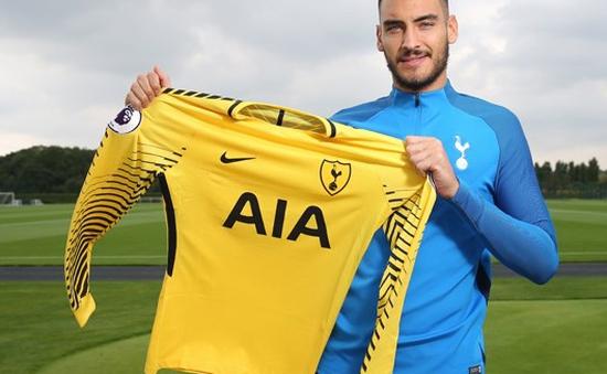 """Tottenham đưa về thủ thành """"đóng thế"""" Lloris"""