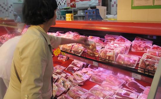 Giá thịt lợn tăng trở lại