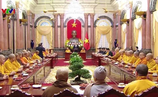 Chủ tịch nước đánh giá cao thành công của Đại hội Phật giáo toàn quốc