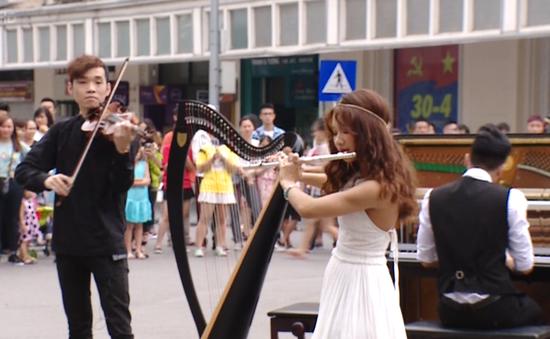 """Rhapsody Philharmonic đưa """"Giao hưởng đường phố"""" đến với công chúng"""