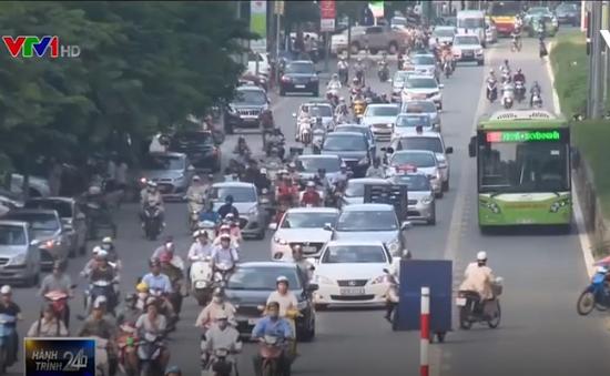 Bộ GTVT đề xuất nâng tiêu chuẩn khí thải ô tô đang lưu hành