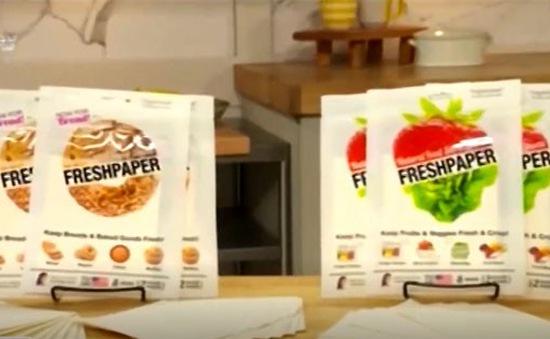 Fresh Paper - Giấy thông minh giữ thực phẩm tươi lâu gấp 4 lần