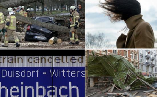 Gió lớn bất thường tại Đức, ít nhất 4  người thiệt mạng