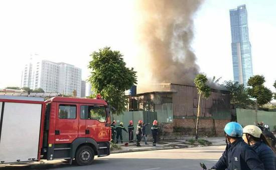 Hà Nội: Cháy nhà trên phố Trung Kính, 1 người thiệt mạng