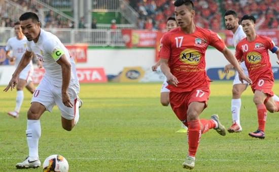 VIDEO CLB TP.Hồ Chí Minh 1-0 Hoàng Anh Gia Lai: Pha phạm lỗi tai hại