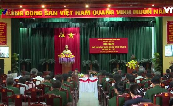 Quảng Nam sơ kết công tác tìm kiếm, quy tập hài cốt liệt sỹ