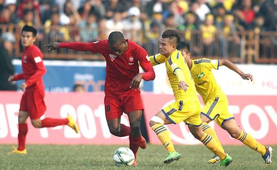 TRỰC TIẾP BÓNG ĐÁ Vòng 22 giải VĐQG V.League 2017: SLNA - CLB Hải Phòng: Cập nhật đội hình xuất phát