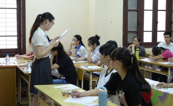 Không thu phí dự thi đối với thí sinh tham dự kỳ thi THPT Quốc gia