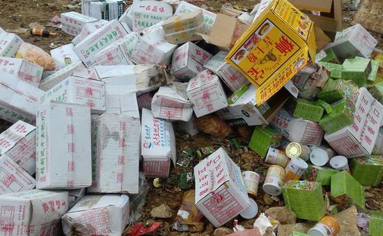 Hà Nội tiêu hủy 15 tấn hàng lậu