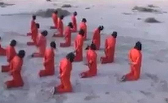 Lan truyền video hành quyết tập thể tại Libya