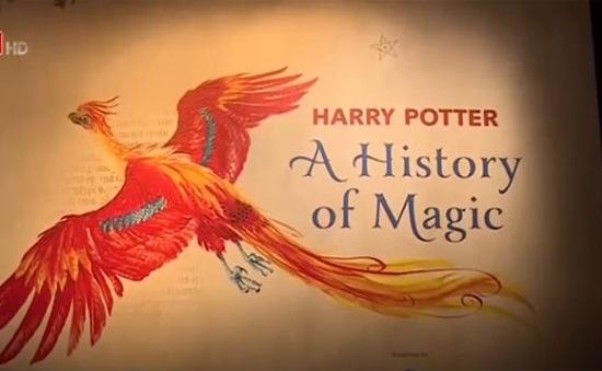 Bảo tàng Anh mở triển lãm về cuốn sách Harry Potter đầu tiên