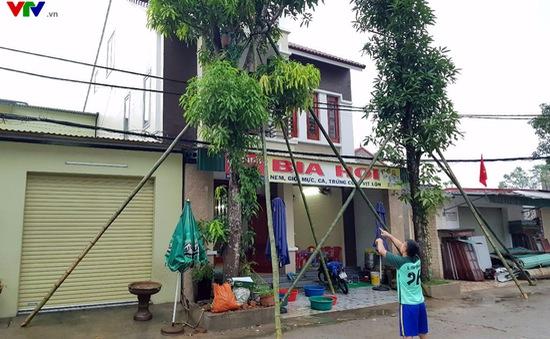 Ngành điện Hà Tĩnh chủ động ứng phó bão số 10