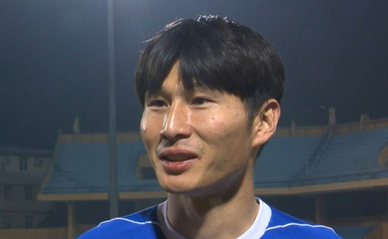 Hậu vệ Kang Min-soo và những ấn tượng trong lần thứ 2 đến Việt Nam