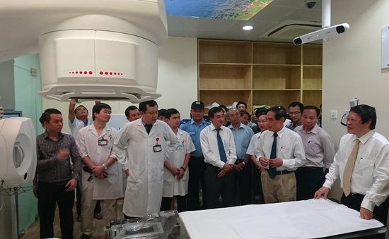 Bệnh viện K đưa hệ thống xạ trị hiện đại vào hoạt động