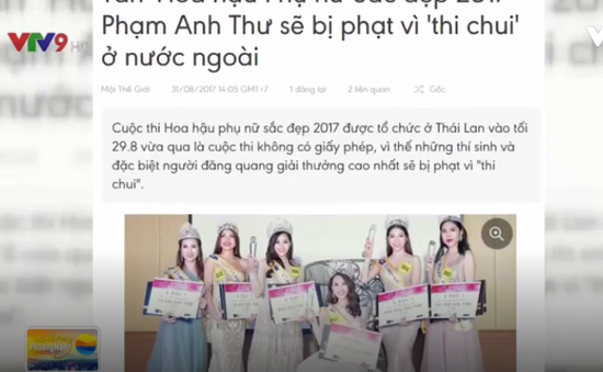 """Ngày càng nhiều người đẹp Việt thi """"chui"""" tại nước ngoài"""