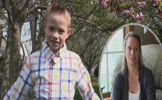 Nữ cảnh sát Mỹ hiến thận cho bé trai xa lạ