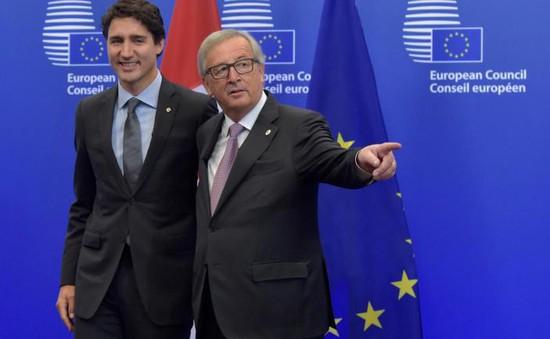 EU và Canada khởi động Hiệp định thương mại CETA từ 21/9